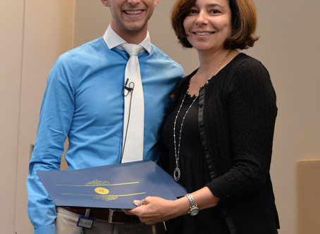 ICO Teachers of the Year and Faculty Scholar Honored at Retreat
