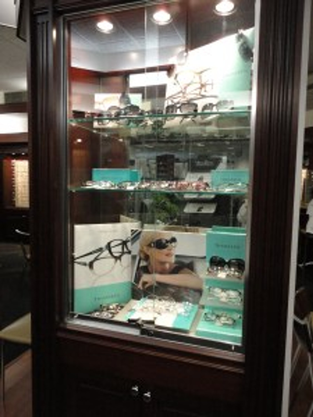 Yes, we get 40% even on the Tiffany frames