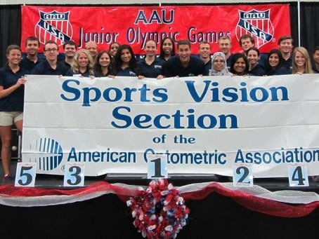 Volunteering at the AAU Junior Olymipics