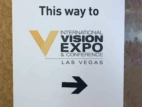 My First Time at Vision Expo West