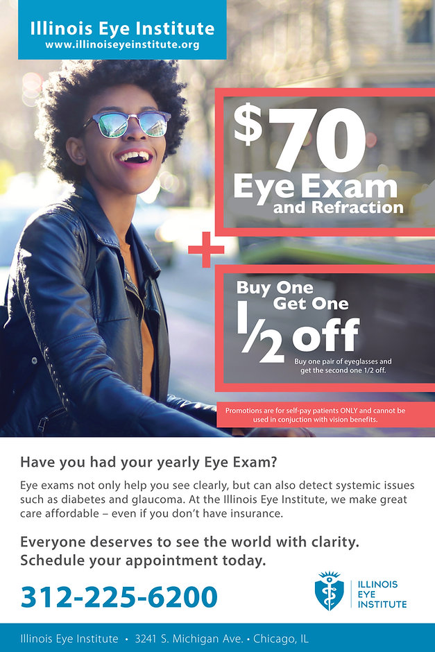Illinois Eye Institute Special Offer