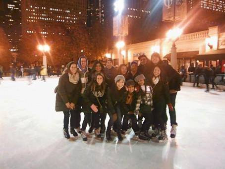 A Winter Wonderland in Chicago