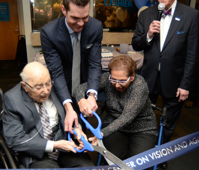 Rosenbloom Center on Vision and Aging Opens its Doors