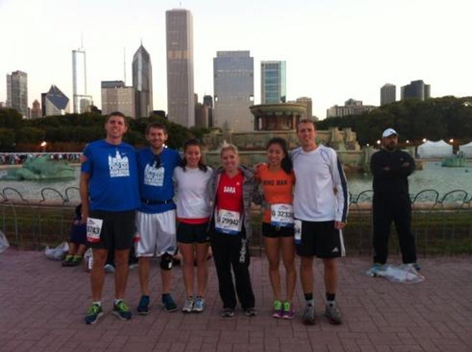 ICO Class of 2016 Marathon runners