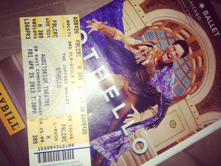 """Joffrey Ballet's """"Othello"""""""