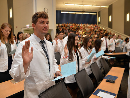 President's Welcome and White Coat Ceremony 2017