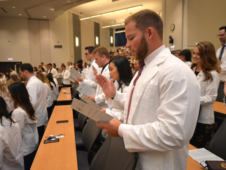 President's Welcome and White Coat Ceremony 2019
