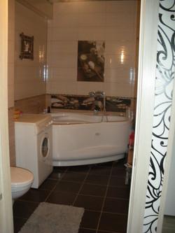 Квартира № 1 в п Березовый (ванная)