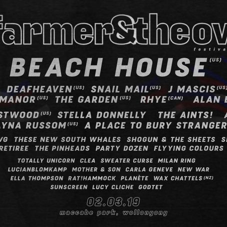 Yours & Owls Announces Farmer & The Owl Lineup