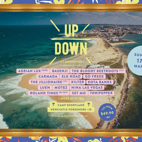 UP DOWN Festival Announces Loaded Inaugural Lineup