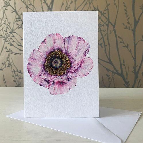 Poppy A6 Greeting Card