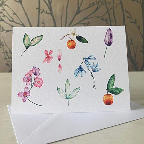 Botanical A6 Greeting Card