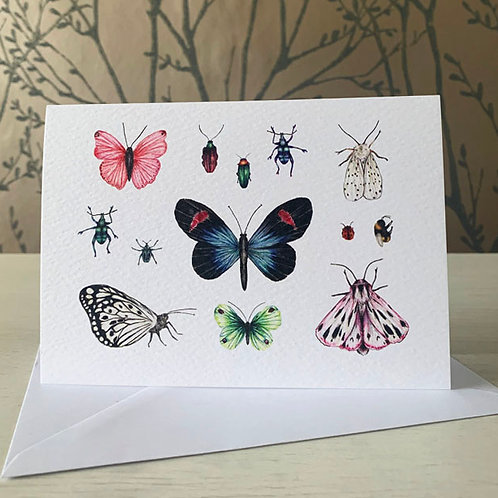 Entomology A6 Greeting Card