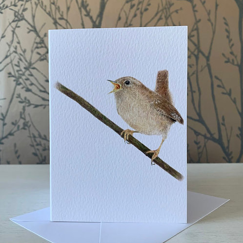 Wren A6 Greeting Card