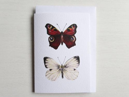 British Butterflies A6 Card