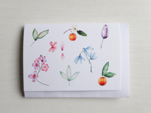Botanical A6 Card
