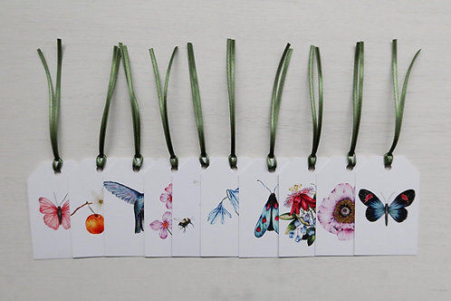 Botanical Pack of 10 Gift Tags