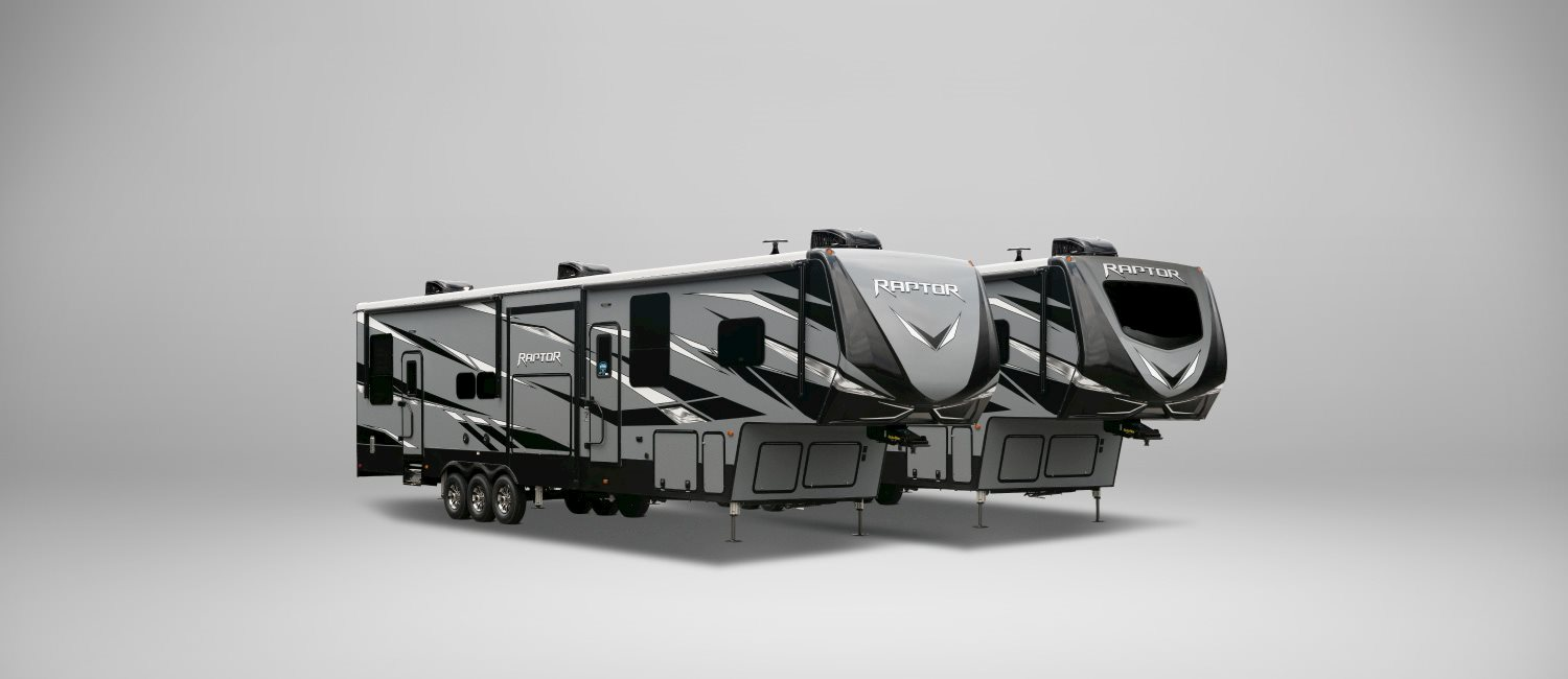 Keystone Raptor 5th Wheel Toy Hauler
