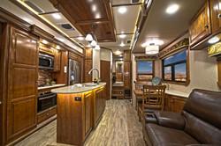 Fifth Wheel RV Kitchen