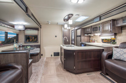 Travel Trailer RV Interior