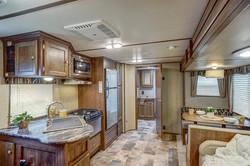 Travel Trailer RV Kitchen