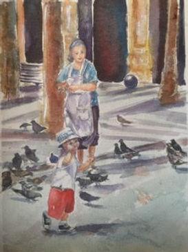 Barcelona Grandma