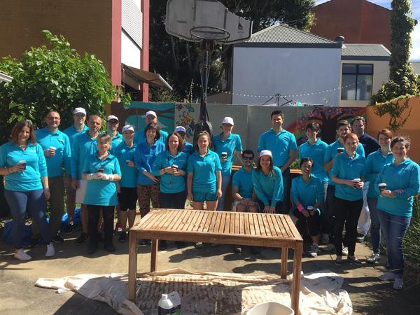 Thank you Lend Lease for Painting Lillian's!