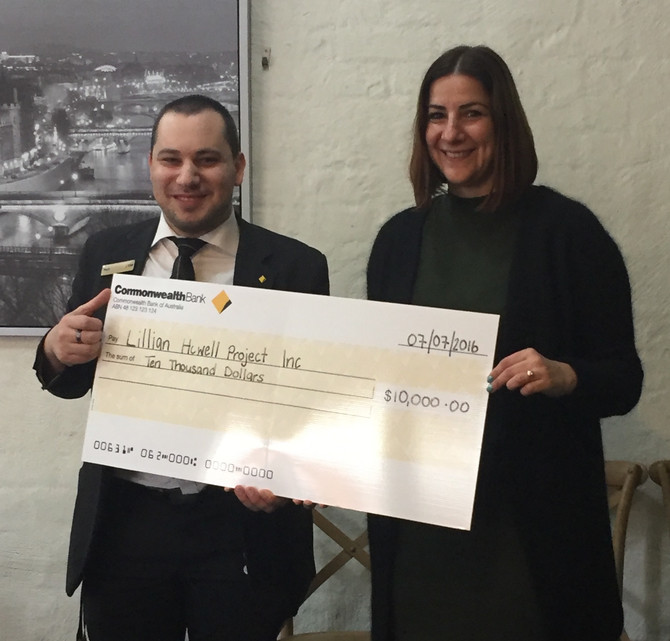 Thank you to Commonwealth Bank of Australia for a $10k grant for our Youth Outreach Worker Program!