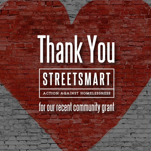 Lillian's receives the Street Smart Cafe Grant