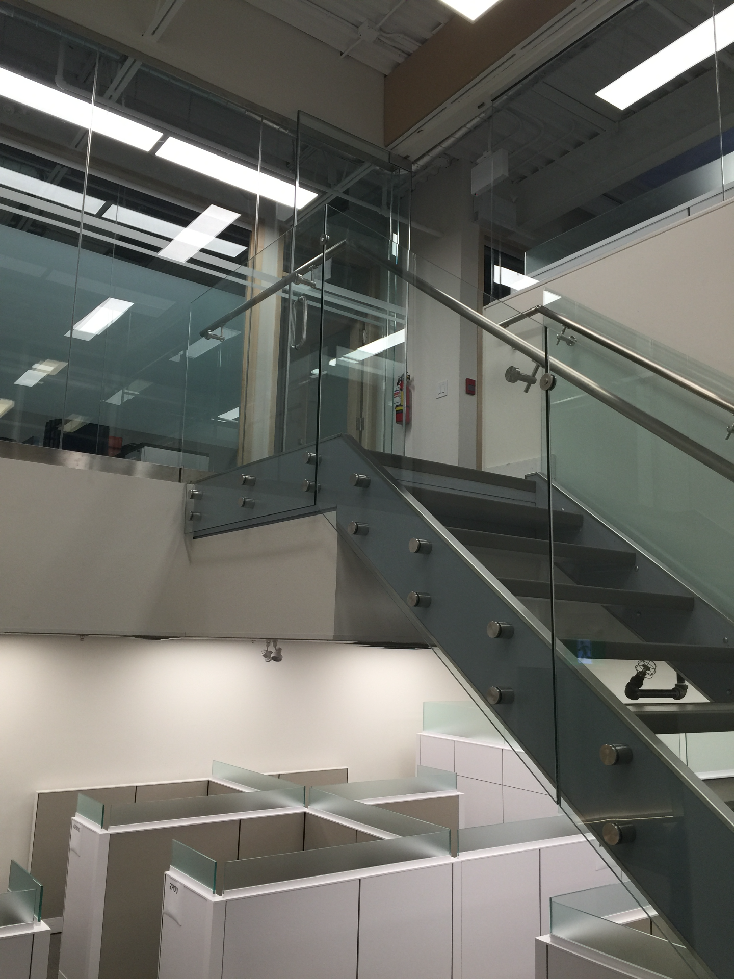 STANDOFF GLASS RAILING SYSTEMS