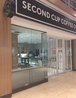 ALL GLASS STOREFRONT - SECOND CUP