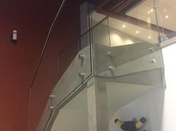 STANDOFF GLASS RAILING