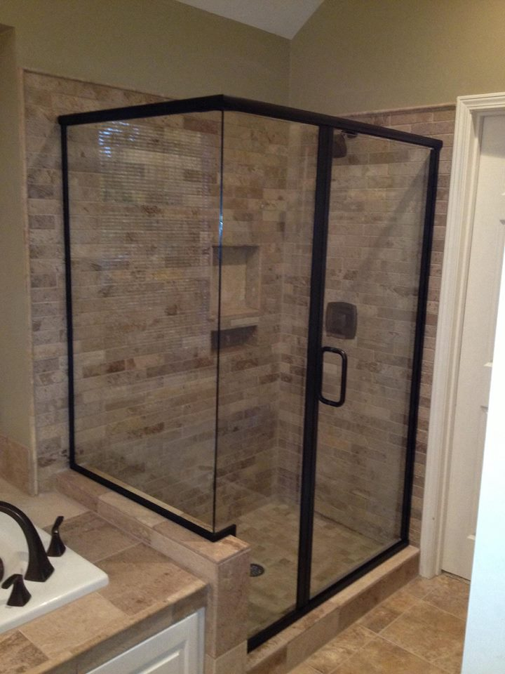 Black-Framed-Shower-Door