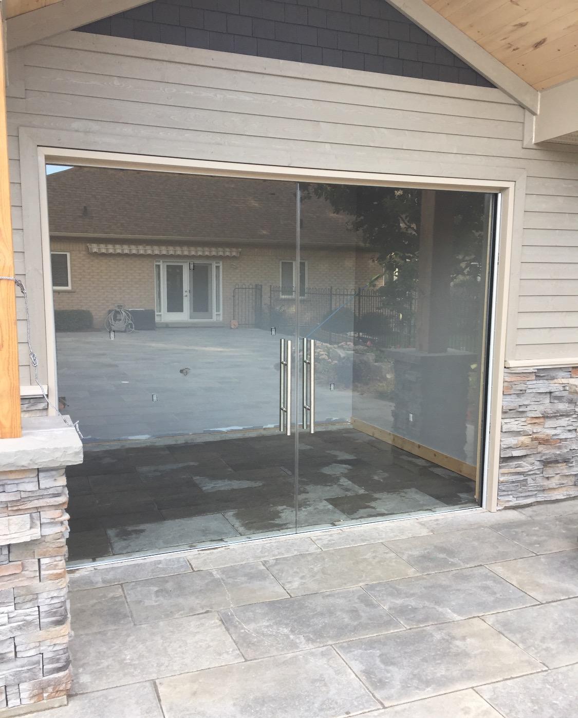 CABANA SLIDING POCKED GLASS DOORS