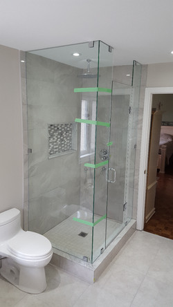 90o Angle SHOWER ENCLOSSURE