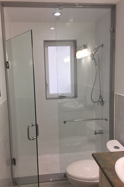 TYPICALGLASS SHOWER ENCLOSURE