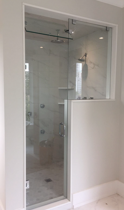 STEAM SHOWER -GLASS SHOWER ENCLOSURE