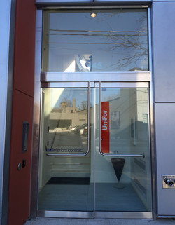 ALL GLASS ENTRY DOOR SYSTEMS