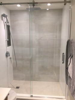 SERENITY SLIDING GLASS SHOWER