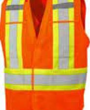 Economy Surveyor Vest with 4 Pockets 1002O-S
