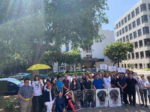 洛杉矶华人民主党组织第二届泼墨节