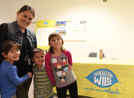 All Smiles at Sierra Grande's Family Nature Night