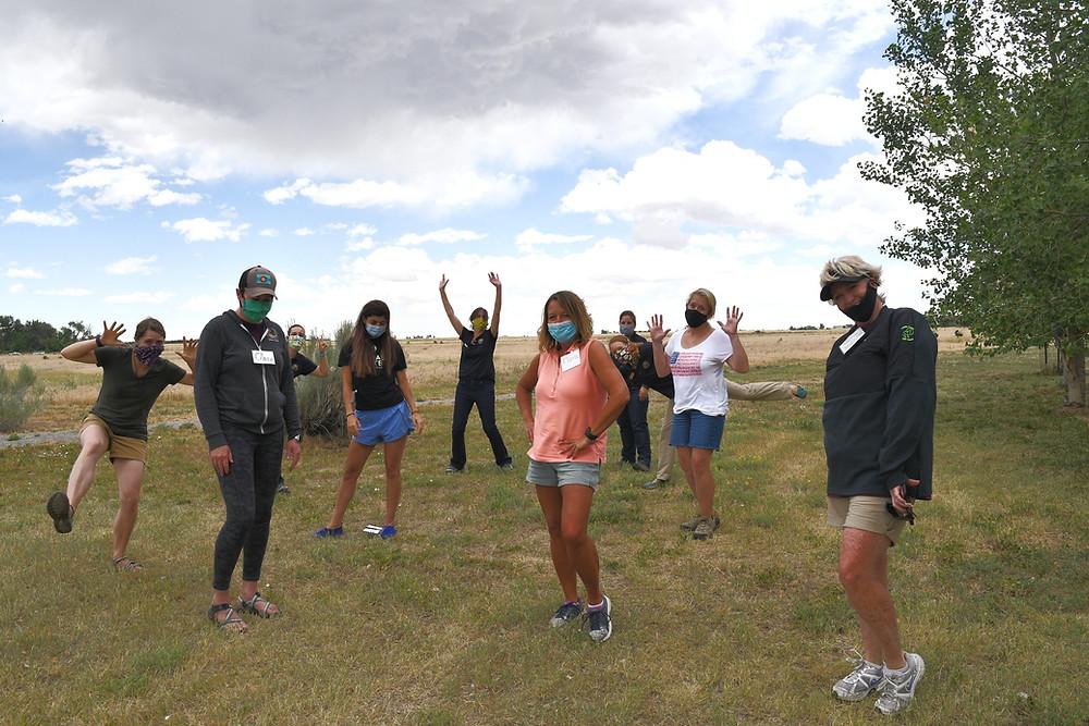 2020 Teacher Workshop and Retreat Group Photo