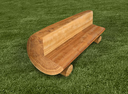 Rounded Log Bench