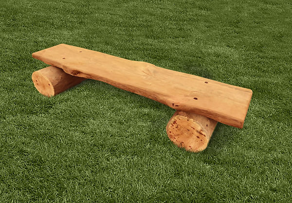 Large Backless Log Bench.jpg