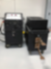DC High Current Tester at Carolina Precision Switchgear