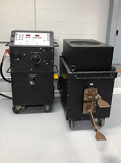 DC High Current Tester at Carolina Precision Switchgear