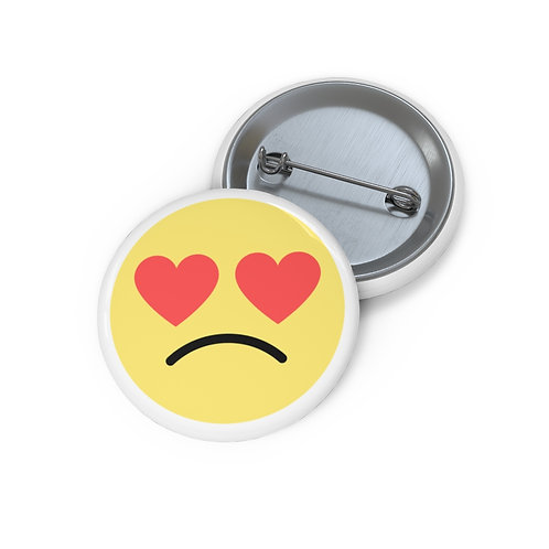 MAL Love Doesn't Hurt Custom Pin Buttons