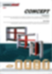 image of front cover Concept case clamp brochure