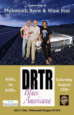 DRTR at Brew and Wine Festival poster